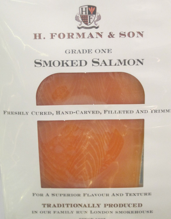Smoked Salmon - Grade One - Frozen / Liquids / Creams - Food